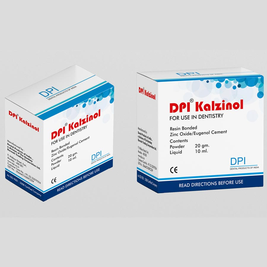 Dpi Kalzinol A Rapid Setting Radiopaque Zinc Oxide Eugenol Resin Packing Dus